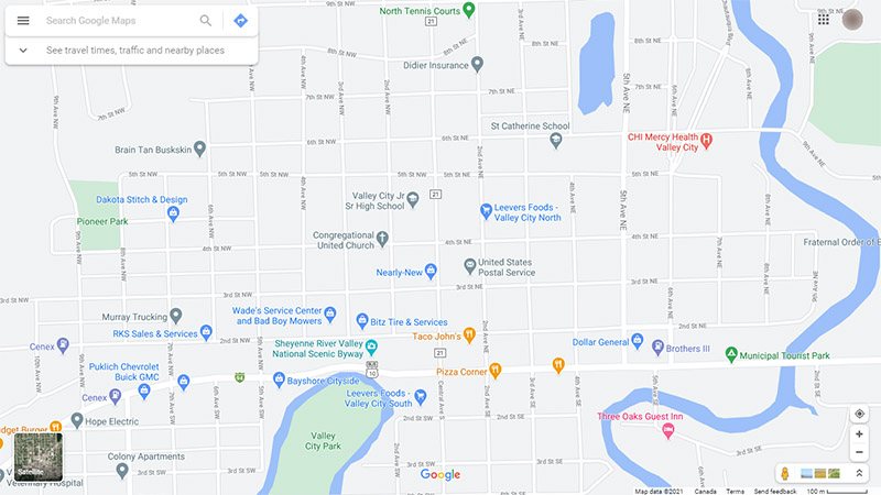 How to save Google Maps location as PDF on a PC